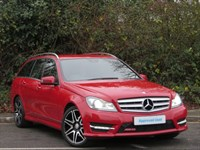 Used Mercedes C220 C-Class CDI BlueEFFICIENCY AMG Sport Plus