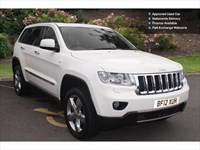 Used Jeep Grand Cherokee Crd Overland 5Dr Auto Station Wagon