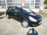 Used Vauxhall Corsa AUTOMATIC CLUB AIR CON 3 DOOR HATCH WITH REAR PARKING SENSORS