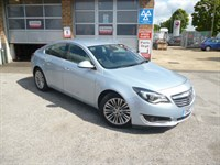Used Vauxhall Insignia CDTI 140PS TECH LINE WITH SAT NAV + BLUETOOTH