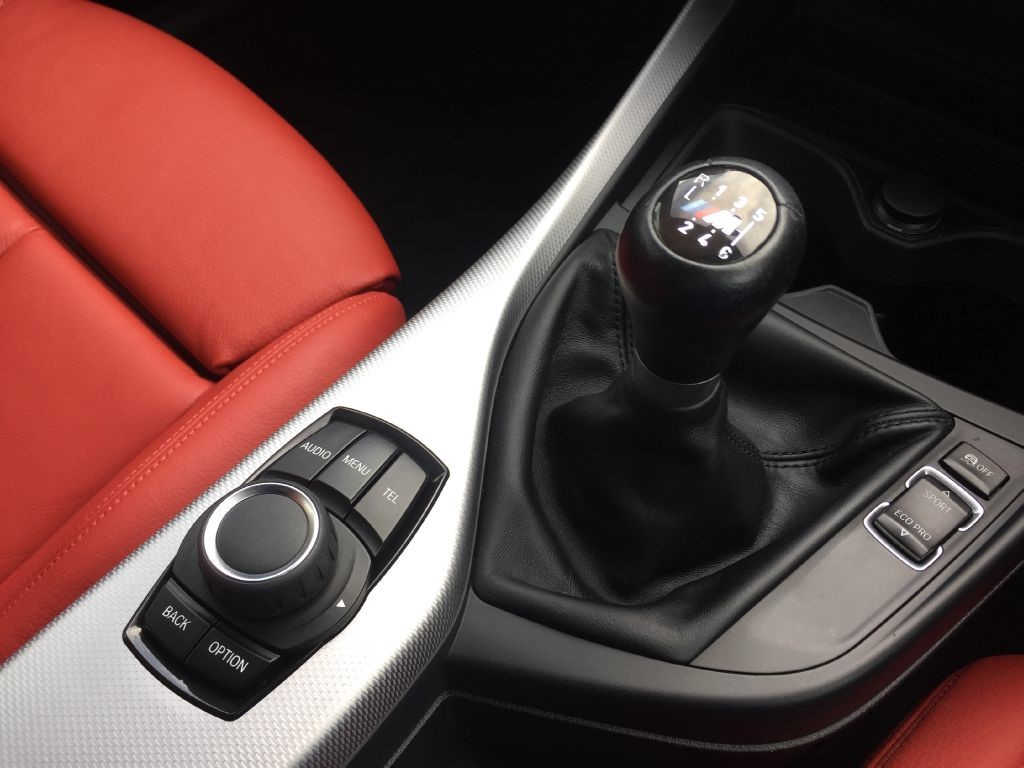 Used Sapphire Black With Coral Red Leather Bmw 116d For
