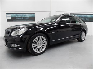 used Mercedes C220 DIESEL 220 BLUE EFFICIENCY ECO ELEGANCE AUTO COMMAND NAVIGATION LEATHER  in axminster-devon
