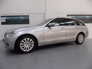 used Mercedes C220 220 CDI BLUE-EFFICIENCY ELEGANCE AUDIO 50 SATILIT NAVIGATION LEATHER FMBSH! in axminster-devon