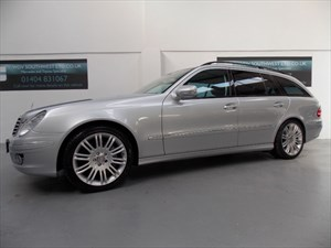 used Mercedes E280 DEISEL 320 SPORT V6 AUTO 7 SPEED COMMAND NAVIGATION FMBSH ONLY 51000 MILES! in axminster-devon
