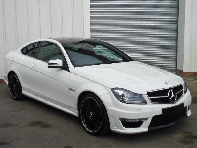 mercedes c class coupe panoramic roof for sale. Black Bedroom Furniture Sets. Home Design Ideas