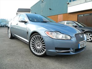 used Jaguar XF PREMIUM LUXURY V6 in wigan-lancashire