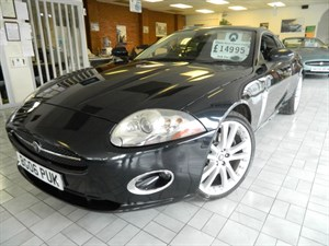 Click here for more details about this Jaguar XK COUPE