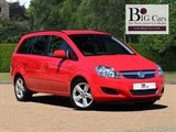 Vauxhall Zafira EXCLUSIV 7 Seats Parking Sensors Aux-in