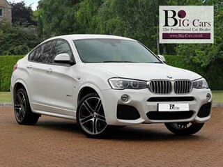 Click here for more details about this BMW X4  XDRIVE30D M SPORT Sat Nav Harman Kardon 20 Alloys