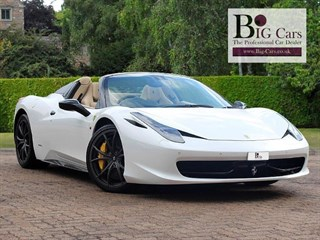 Click here for more details about this Ferrari 458 SPIDER DCT Yellow Calipers