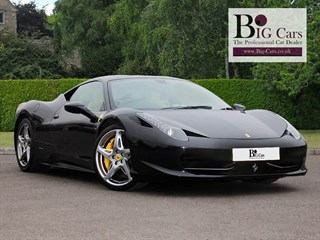 Click here for more details about this Ferrari 458 ITALIA DCT Yellow Calipers