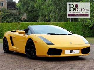 Click here for more details about this Lamborghini Gallardo V10 SPYDER E-Gear