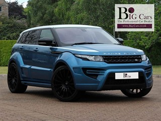 Click here for more details about this Land Rover Range Rover Evoque Si4 ONYX Sat Nav Meridian Pan Roof