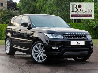 Click here for more details about this Land Rover Range Rover Sport TDV6 HSE Spec Deployable Side-Steps Pan Roof