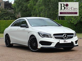 Click here for more details about this Mercedes-Benz CLA45 AMG 4MATIC Sports Package Park Assist