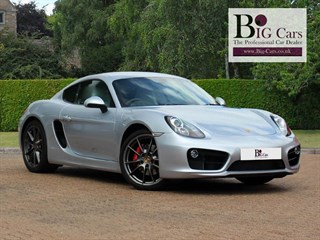 Click here for more details about this Porsche Cayman S PDK Sport Chrono Pack Bose Sat Nav