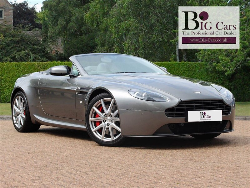 used Aston Martin Vantage V8 ROADSTER, Sat Nav, Reverse Camera, Heated Leather in chelmsford-essex