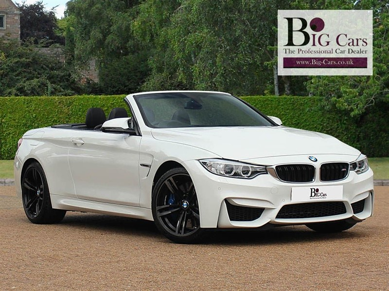 used BMW M4 DCT, Convertible, Harman/Kardon  in chelmsford-essex