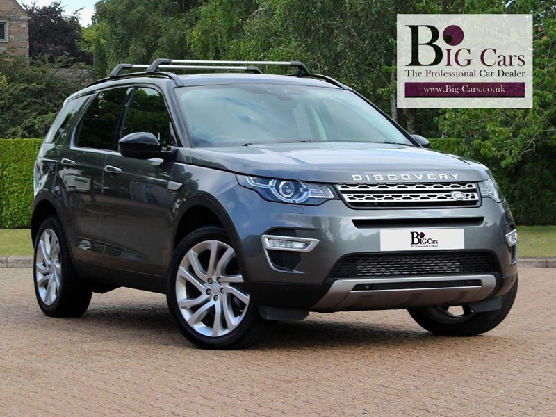 used Land Rover Discovery Sport SD4 HSE LUXURY, Sat Nav, Panoramic Roof, 7 Seats in chelmsford-essex