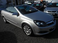 Used Vauxhall Astra TWIN TOP SPORT