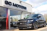 Used Land Rover Range Rover Sport SD V6 HSE 4x4 5dr (start/stop) LUMMA BODY KIT