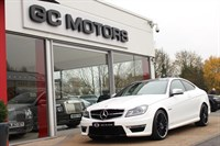 Used Mercedes C63 AMG C CLASS 2dr AMG MCT PANORAMIC ROOF