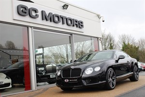 used Bentley Continental GT V8 2dr 4WD VAT QUALIFYING in north-yorkshire