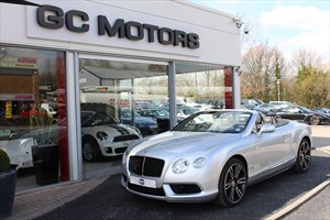 used Bentley Continental GTC V8 2dr Auto + CARBON FIBRE EXTERIOR PACK in north-yorkshire