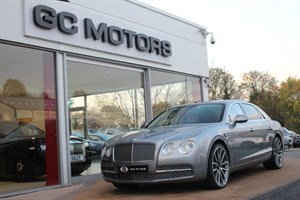 used Bentley  FLYING SPUR W12 4dr Auto MULLINER DRIVING SPECIFICATION in north-yorkshire