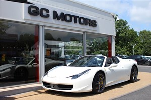 used Ferrari 458 Spider 2dr Auto ++++ VAT QUALIFYING in north-yorkshire