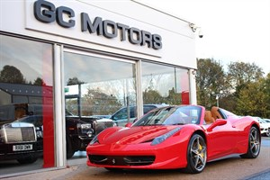 used Ferrari 458 Spider 2dr Auto HUGE SPECIFICATION in north-yorkshire