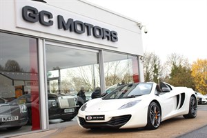 used Mclaren  12C SPIDER CARBON FIBRE ENGINE BAY in north-yorkshire