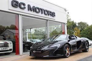 used Mclaren  650S SPIDER VAT QUALIFYING in north-yorkshire