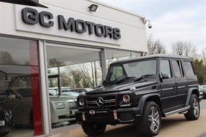used Mercedes  G CLASS G63 AMG 5dr REAR ENTERTAINMENT in north-yorkshire