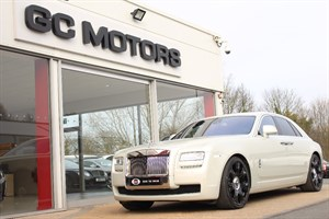 used Rolls-Royce Ghost 4dr REAR THEATRE SYSTEM in north-yorkshire