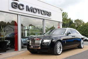 used Rolls-Royce Ghost 4dr Auto EWB +++ LIST PRICE OF £293,000 in north-yorkshire