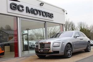 used Rolls-Royce Ghost 4dr PANORAMIC ROOF / SATIN BONNET in north-yorkshire