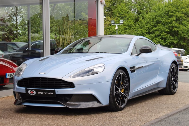 used Aston Martin Vanquish V12 Touchtronic III 2dr in north-yorkshire