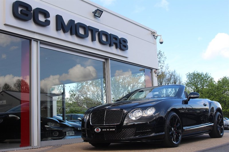 used Bentley Continental W12 GTC Speed 2dr 4WD in north-yorkshire