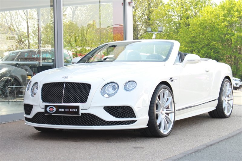 used Bentley Continental Speed W12 GTC 2dr in north-yorkshire