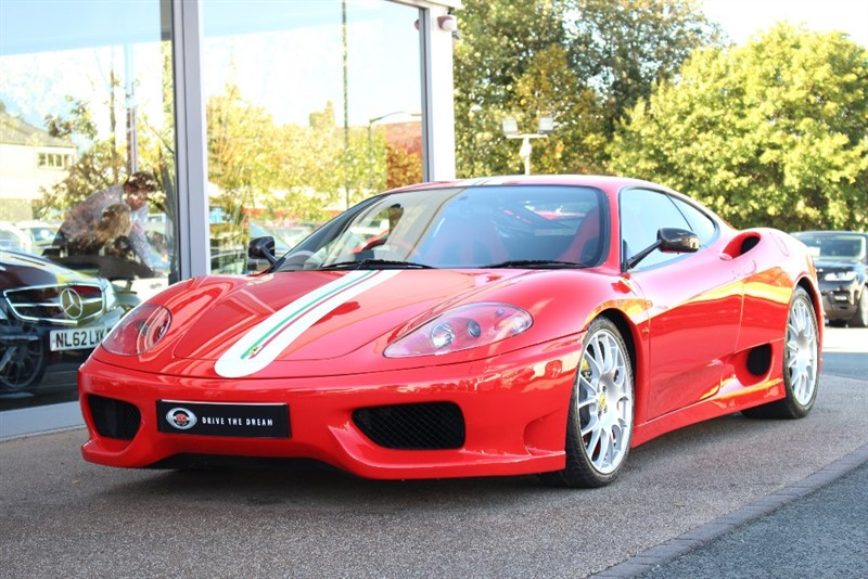 used Ferrari 360 3.6 Challenge Stradale F1 2dr in north-yorkshire