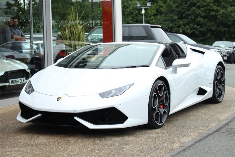 used Lamborghini Huracan LP610-4 Spyder in north-yorkshire
