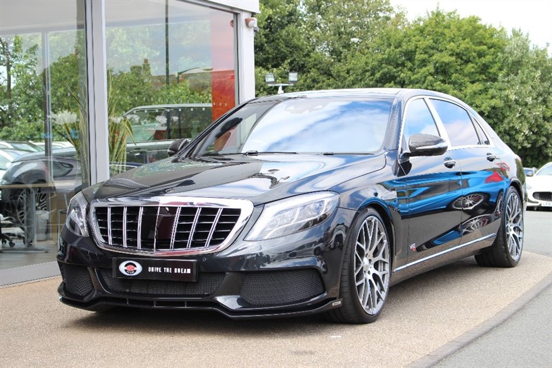 used Mercedes S600 S Class Maybach 7G-Tronic Plus 4dr (start/stop) in north-yorkshire