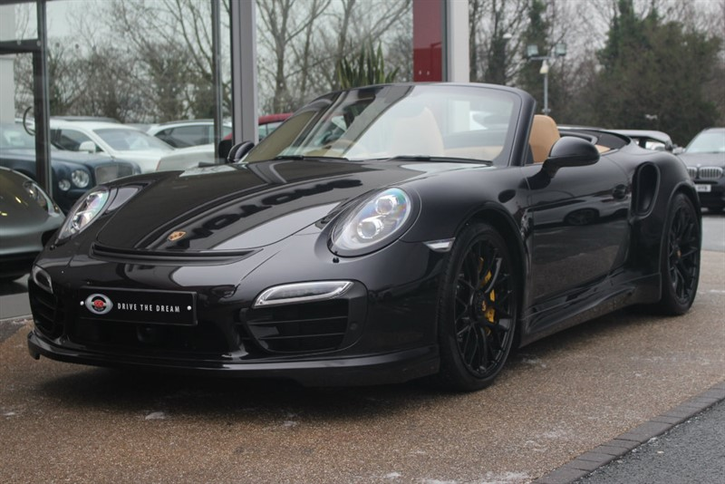used Porsche 911 MK 991 Turbo 2dr PDK 4WD in north-yorkshire