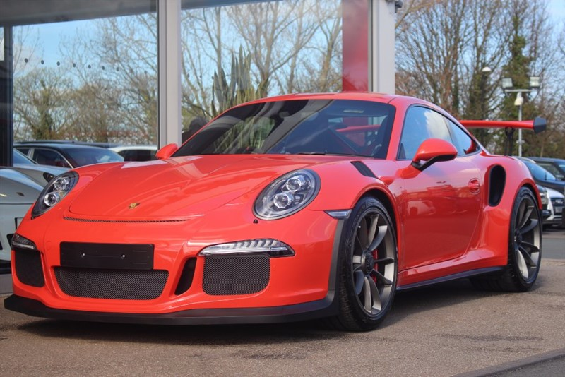 used Porsche 911 GT3 RS 2dr PDK in north-yorkshire