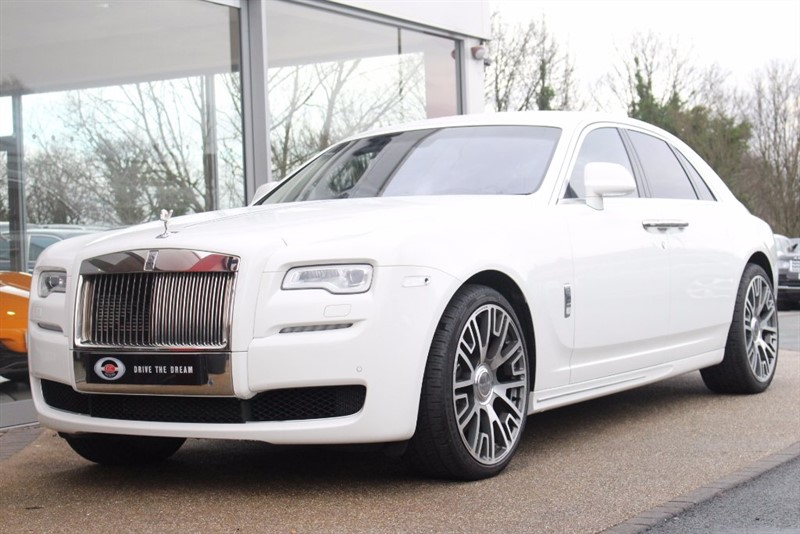 used Rolls-Royce Ghost 4dr in north-yorkshire
