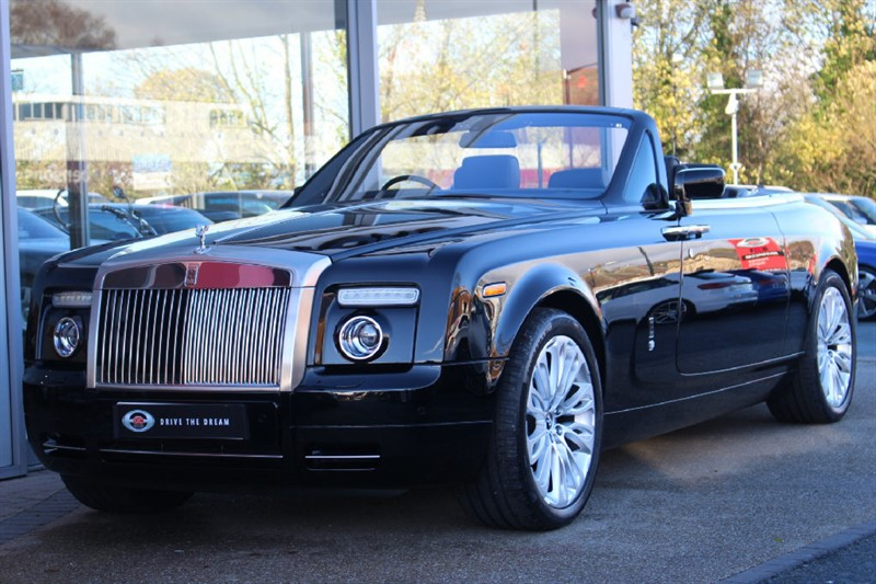 used Rolls-Royce Phantom Drophead 2dr in north-yorkshire