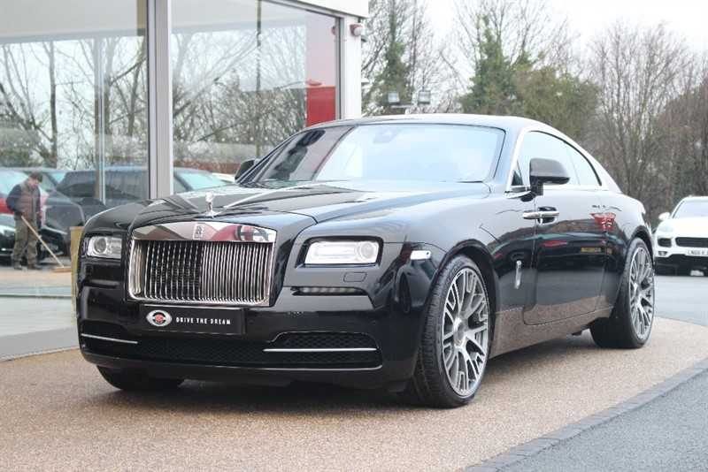 used Rolls-Royce Wraith 6.6 2dr in north-yorkshire