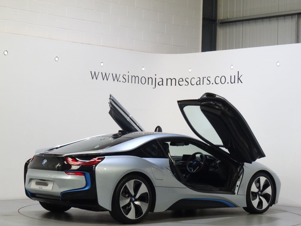 used ionic silver bmw i8 for sale derbyshire. Black Bedroom Furniture Sets. Home Design Ideas