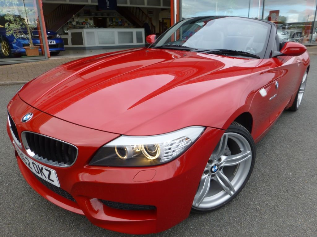 Used Red Bmw Z4 For Sale Cheshire